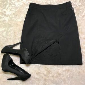 BCBG MaxAZria black Pencil Skirt